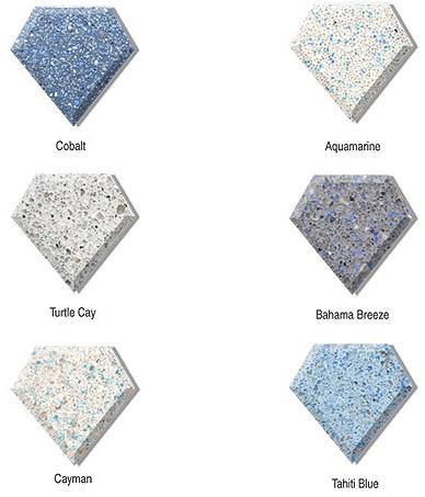 Diamond Brite Water Color Samples