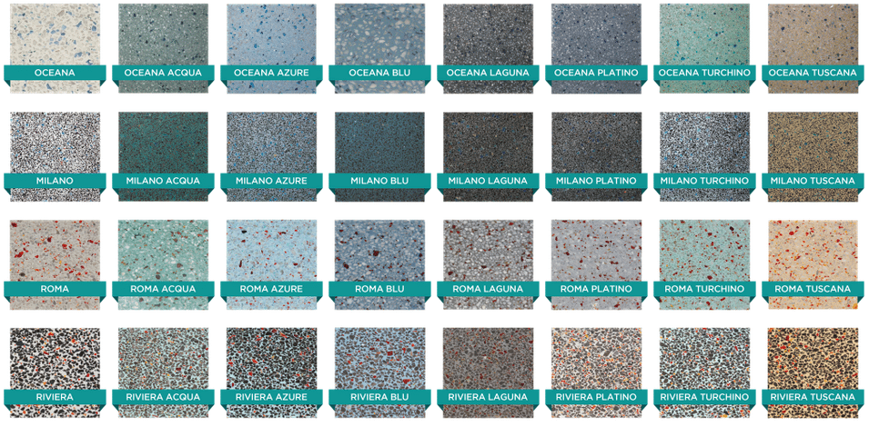 Wonderful Pool Finish Ideas For You To Copy: Hydrazzo Pool Plaster Finish