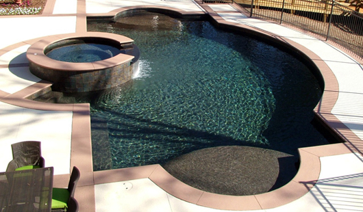 Mother Of Pearl Pool Plaster Finish Coronado S Pool