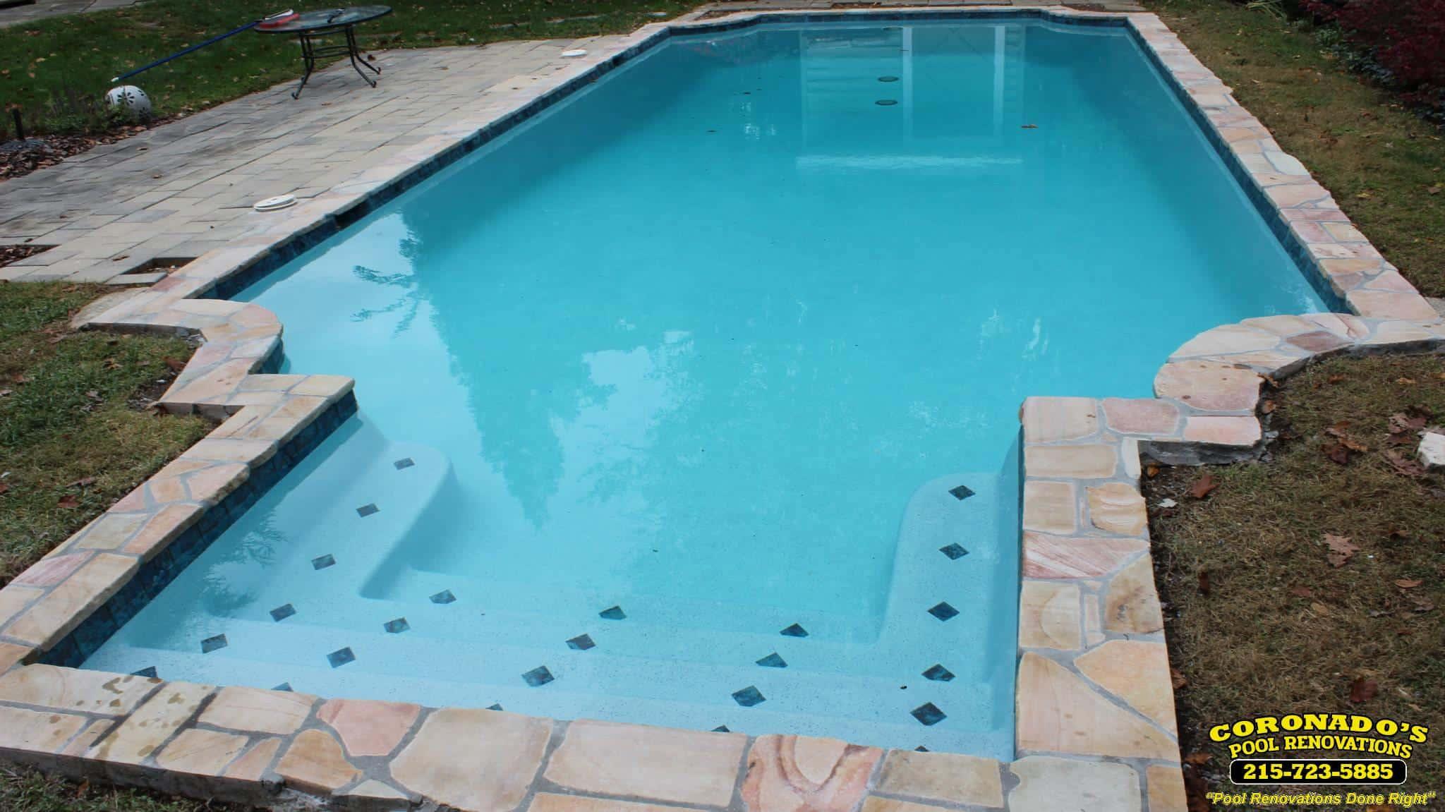 Hydrazzo Pool Plaster Finish Coronado S Pool Renovations