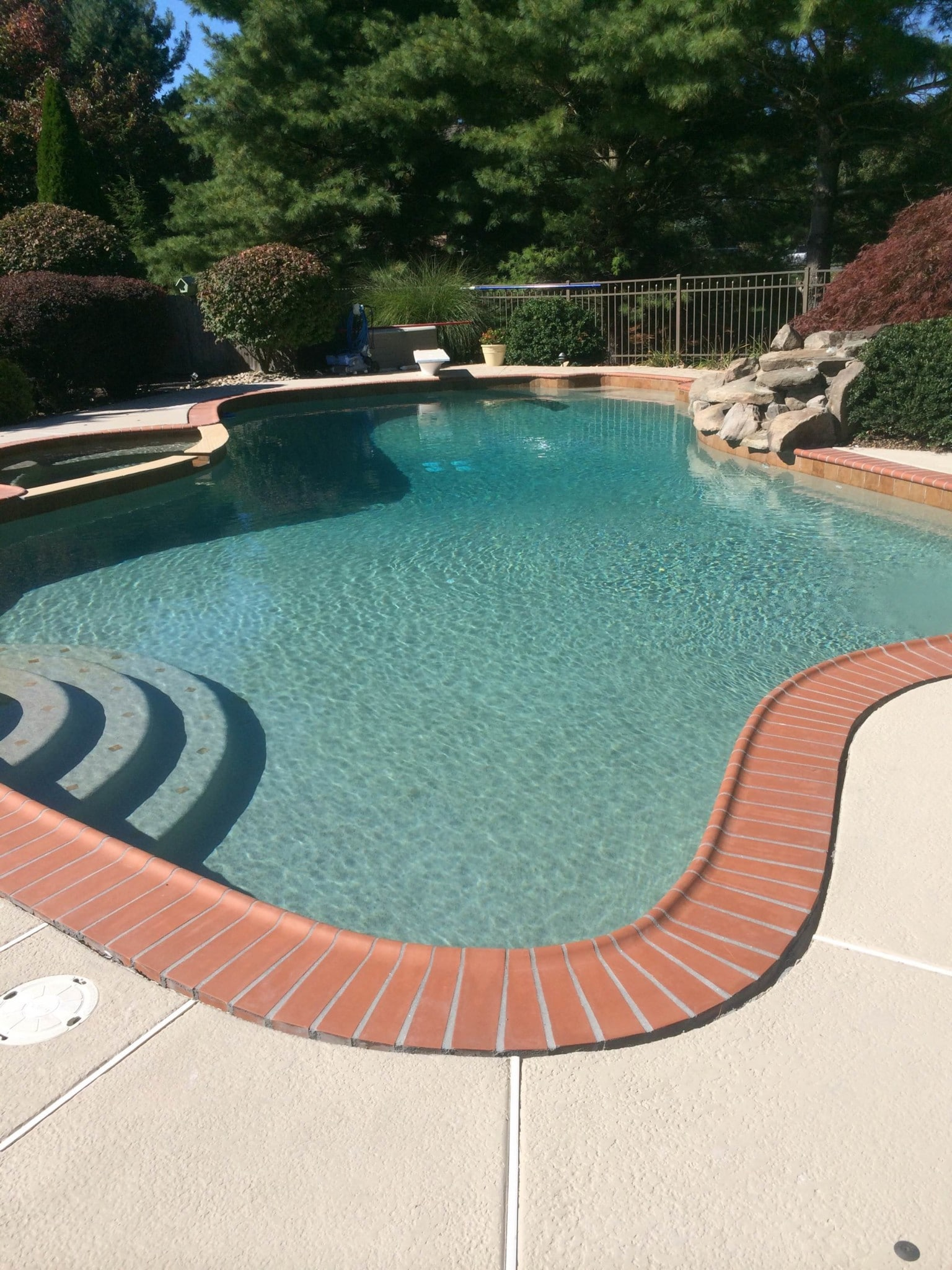 river rok pool finish coronado u0027s pool renovations