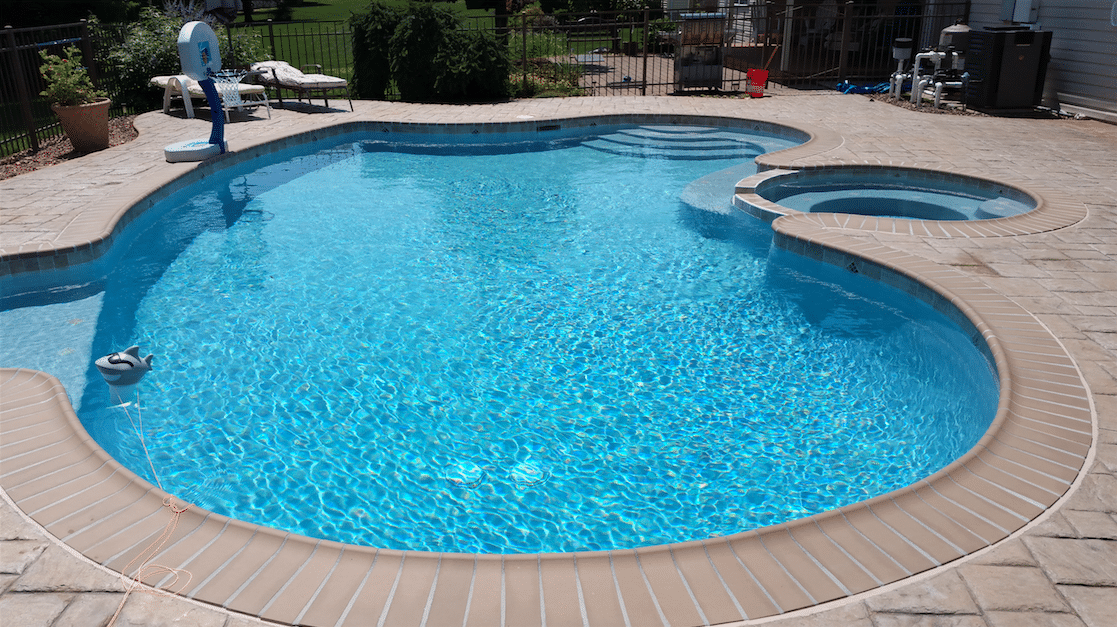 Diamond brite pool plaster finish coronado 39 s pool for Pool plaster