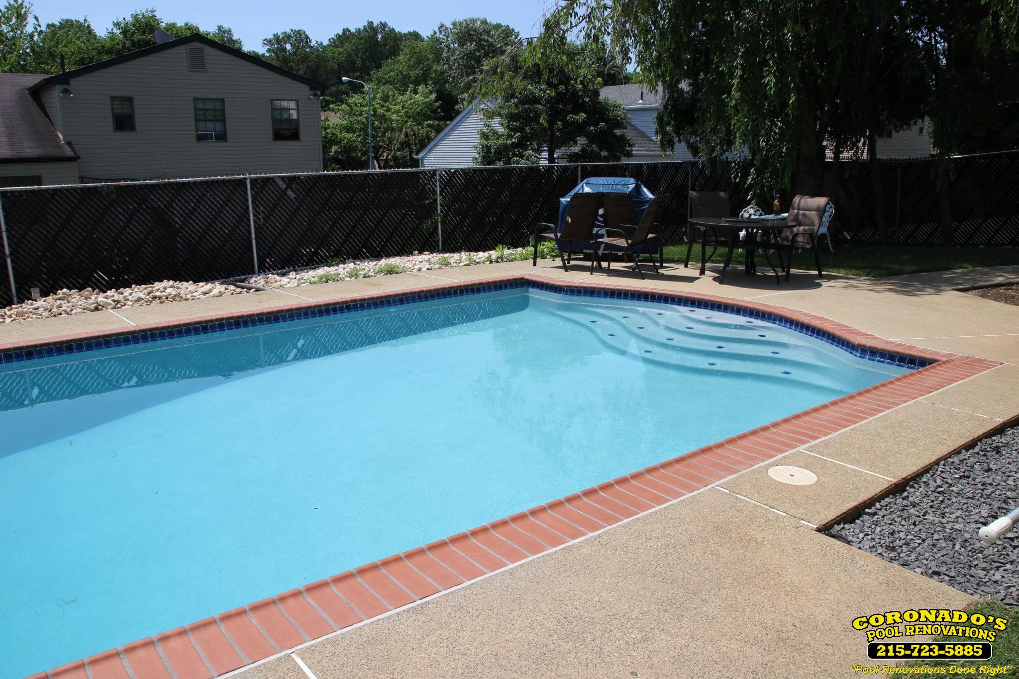 Diamond brite pool plaster finish coronado 39 s pool for Pool plaster