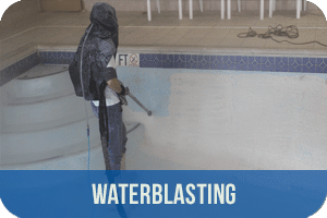 waterblast swimming pool