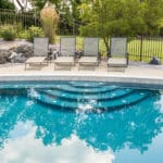 commercial swimming pool tile and coping