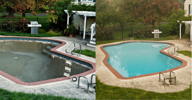 Four pool maintenance steps coronado s pool plaster - How soon can you swim after plastering pool ...
