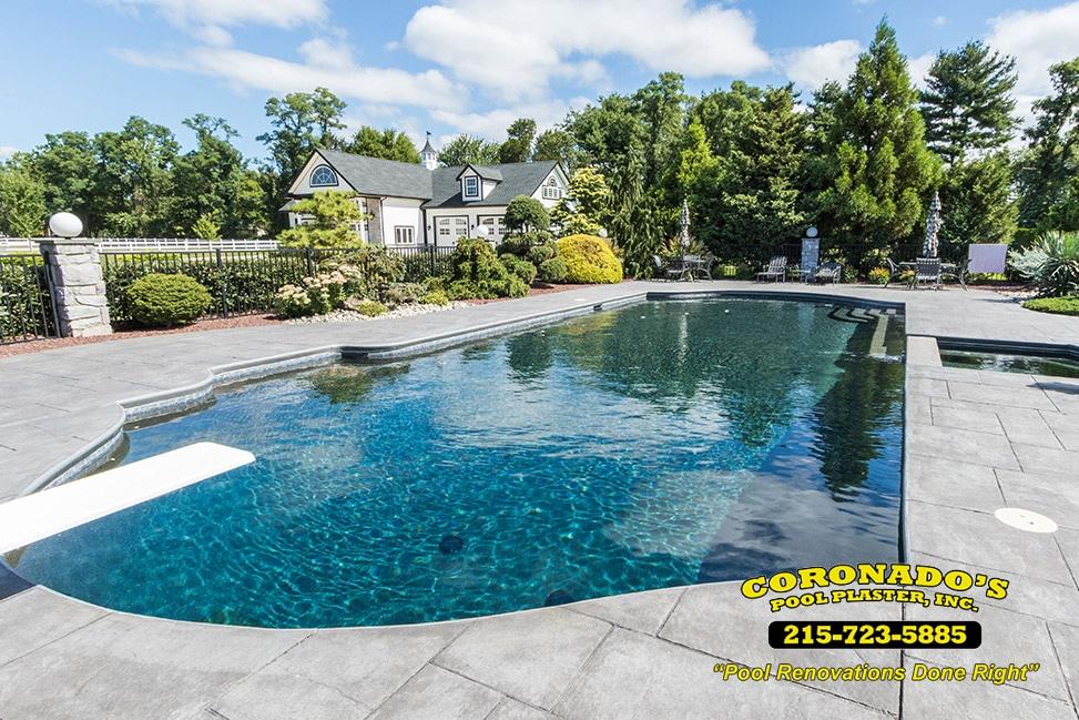River Rok Pool Plaster Finish Coronado S Pool