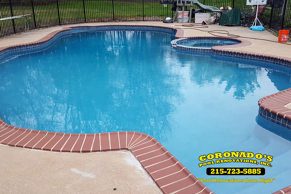 Attractive Quartzscapes Pool Plaster Finish | Coronado's Pool Renovations, Inc GO85