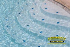 Swimming pool finish