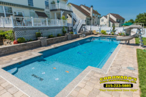 fix swimming pool coping