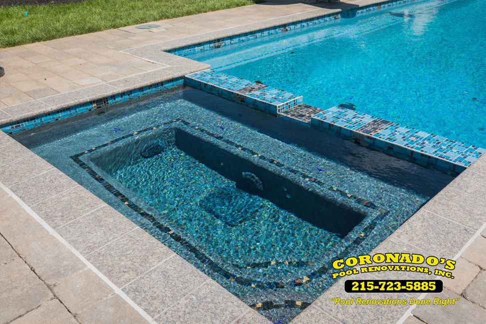 Swimming Pool Tile Coping Repair