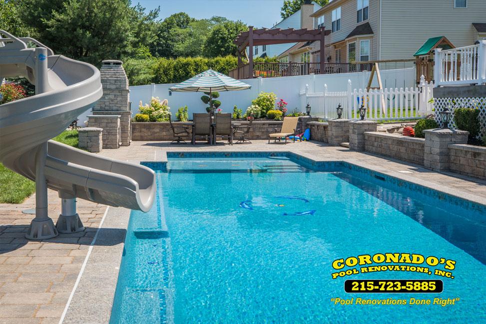 swimming pool plaster repair