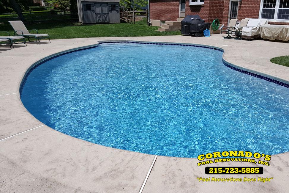 Swimming Pool Finish Line : Quartzscapes pool plaster finish coronado s