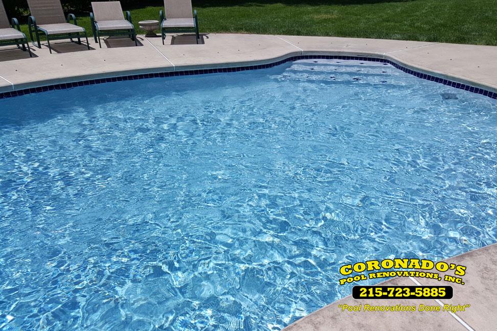 Commercial swimming pool plaster coronado 39 s pool renovations for Pool plaster