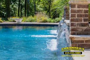 Waterblast swimming pool