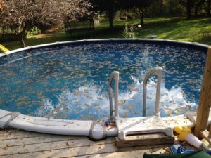 Acid Wash Swimming Pool Surface