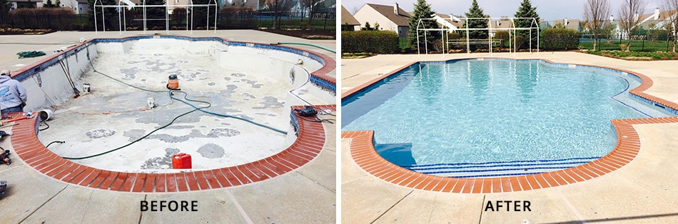 fix swimming pool
