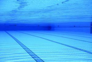 polish swimming pool surface